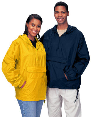 Cardinal Activewear Nylon Hooded Jacket Youth Pullover Unlined