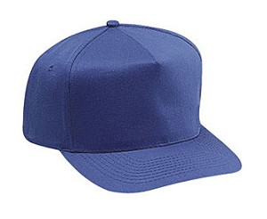 Cotton Twill Five Panel Pro Style Adjustable Cap; Style 656