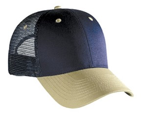 Cotton Twill Low Profile Pro Style Mesh Back Caps; Style 604