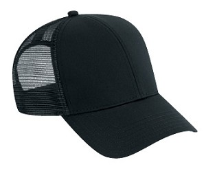 Washed Cotton Twill Low Profile Pro Style Mesh Back Cap; Style 634
